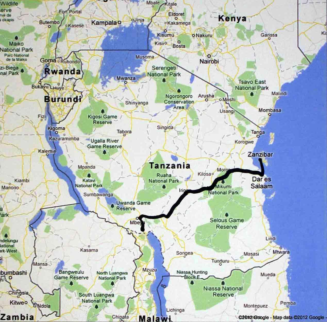 June 15 Dar es Salaam to Zanzibar
